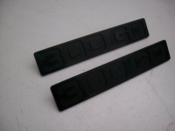 Typenzeichen 300 GD schwarz
