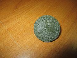Firmenzeichen Mercedes  Motorhaube bronzegrün Wolf neu  460/461(463)