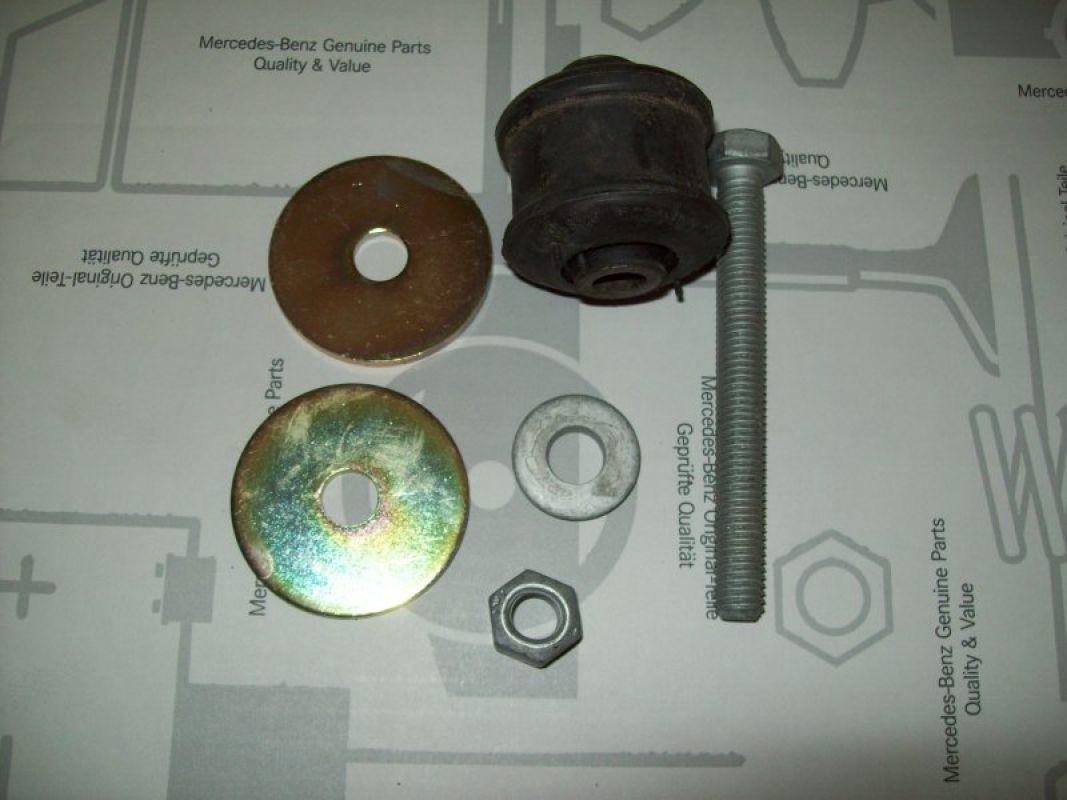 Teilesatz Aufhängung Verteilergetriebe 460/461