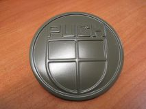 Firmenzeichen Puch für Kühlergrill  (Durchmesser 10cm)  Militärversion