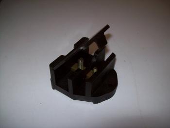 Kabelverbinderdose isoliert gebraucht