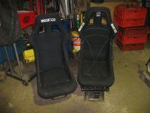 Sitzpaar  Sparco Rennsitze  gebraucht  je ein rechterund linker